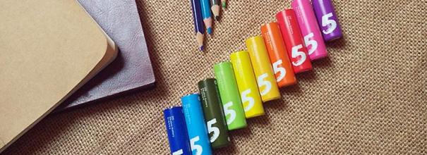 小米彩虹5号电池无汞无镉安全无毒 让生活更美好