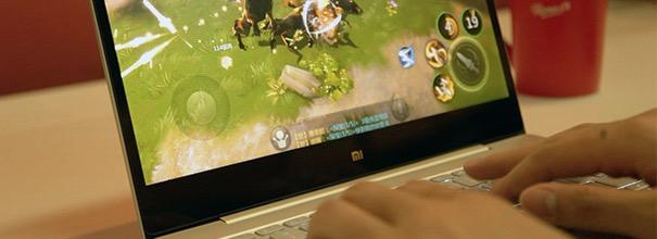 雷军设计的游戏?如何用小米笔记本玩《剑侠世界》更爽