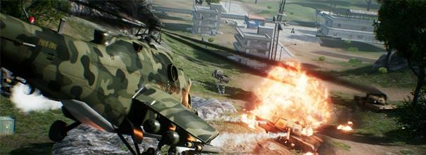 自从《小米枪战》战场模式加入武装直升机后,坦克制霸战场的格局终于被突破,玩家的战斗体验也升级到多维度战场。由于每个阵营只有两架直升机,合理运用成为决定战局胜负的关键。
