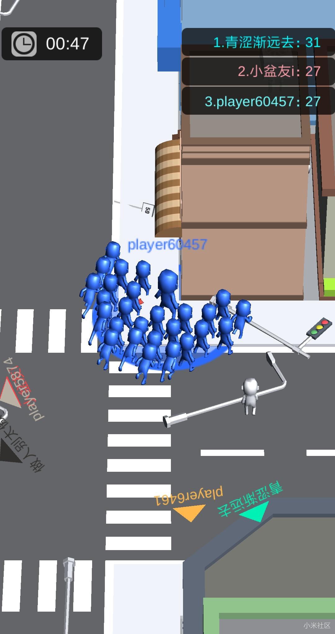 『拥挤城市』| 又一魔性小游戏登上榜首啦 你不想知道