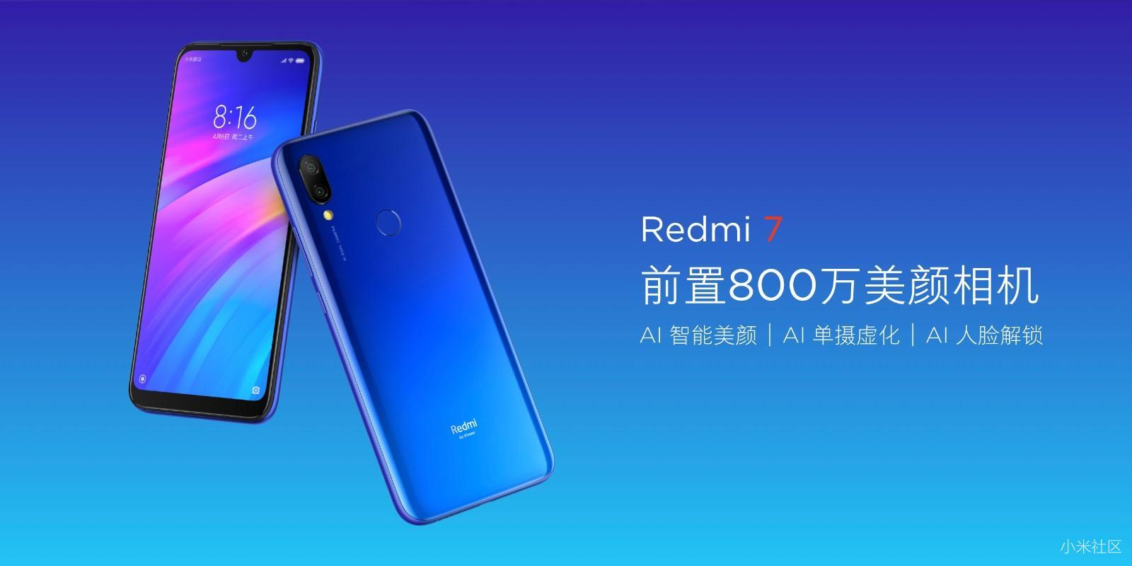 Redmi Note 7 / Redmi 7 马来西亚发布,定于3月27日发售,最低RM499起 75
