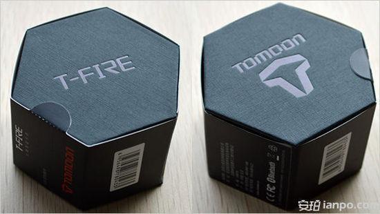 使用六边形外包装,全纸质结构,从上图看出,包装并不比产品大多少,相当